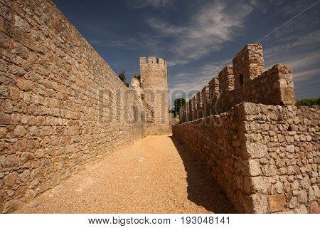 beautiful castle in Portugal