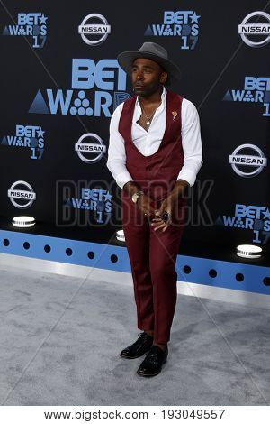 LOS ANGELES - JUN 25:  MAJOR at the BET Awards 2017 at the Microsoft Theater on June 25, 2017 in Los Angeles, CA
