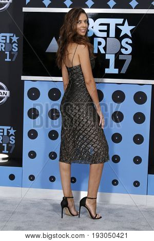 LOS ANGELES - JUN 25:  Terri Seymour at the BET Awards 2017 at the Microsoft Theater on June 25, 2017 in Los Angeles, CA