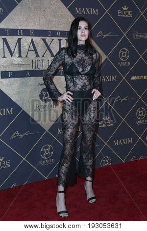 LOS ANGELES - JUN 24:  Amelia Gray Hamlin at the 2017 Maxim Hot 100 Party at the Hollywood Palladium on June 24, 2017 in Los Angeles, CA