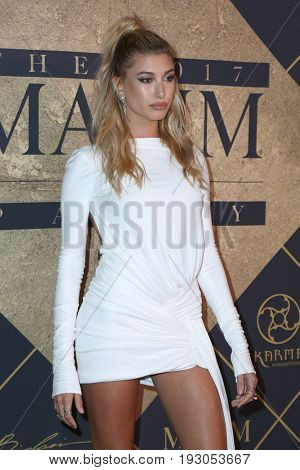LOS ANGELES - JUN 24:  Hailey Baldwin at the 2017 Maxim Hot 100 Party at the Hollywood Palladium on June 24, 2017 in Los Angeles, CA