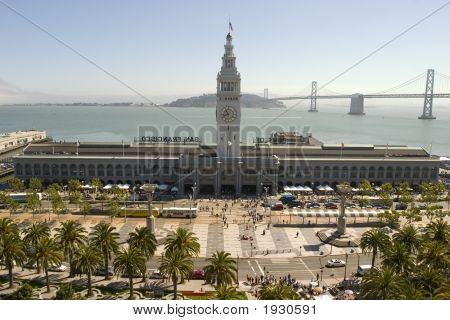 Ferry Building In Daylight