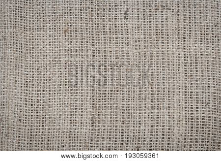 Burlap fabric texture background