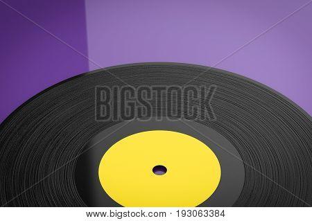 Retro Vinyl Record