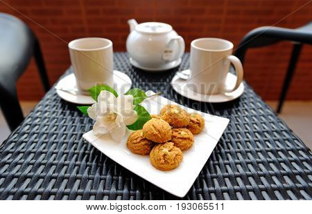 Tea time tea break relax and personal time