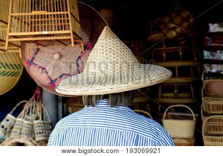 Bamboo Basketwork Natural Handmade