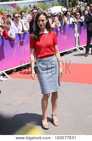 Berenice Bejo attends the 70th Anniversary photocall during the 70th annual Cannes Film Festival at Palais des Festivals on May 23, 2017 in Cannes, France.