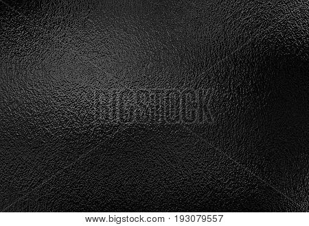 Silver black foil texture, metallic decorative background