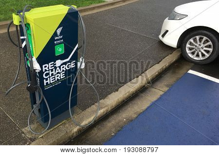 Rapid Electric Vehicle Charging Stations