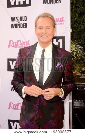 LOS ANGELES - JUN 9:  Carson Kressley at the RuPauls Drag Race Season 9 Finale Taping at the Alex Theater on June 9, 2017 in Glendale, CA