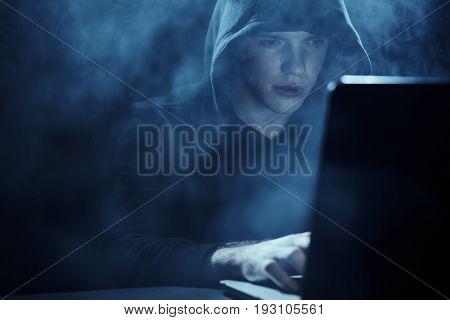 Hacker, programmer, program, programming, hacking, computer, laptop.