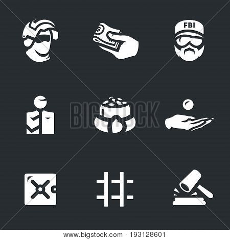 Special Forces, bribe, police, bribe taker, greed, extortion, safe, prison, court. poster