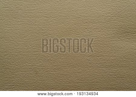 abstract grained texture of speckled fabric or paper material of color sepia