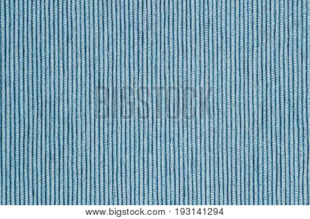 blue linen texture background table cloth vertical lines
