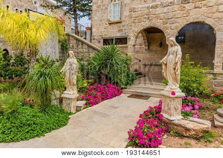 Saint John Marc Cathedral  Byblos Jbeil in Lebanon Middle east