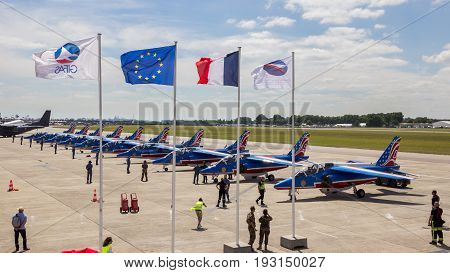 Patrouille De France Flags