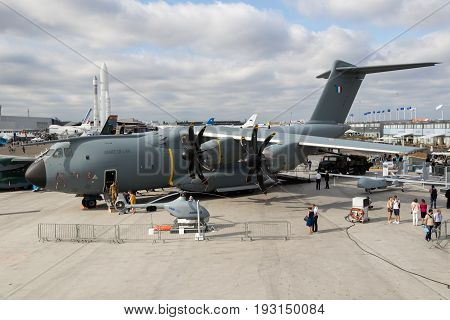Airbus A400M Military Cargo Airplane