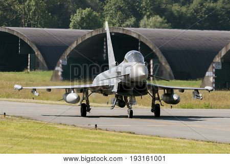 Eurofighter Typhoon Fighter Plane