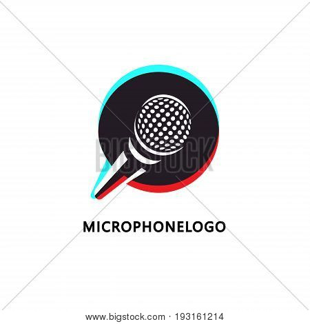 logo design for music or broadcasting related business. Emitting sound
