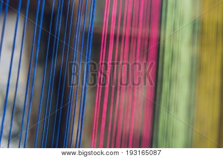 Multicolor Thread Silks Dye From Natural Color Material For Woven Silk Handicraft