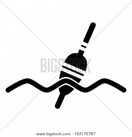 Fishing sign icon. Float bobber symbol. Fishing tackle. Vector