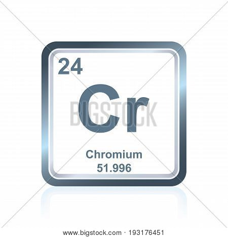 Chemical Element Chromium From The Periodic Table