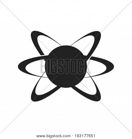 Atom logo design, stock logo design, vector