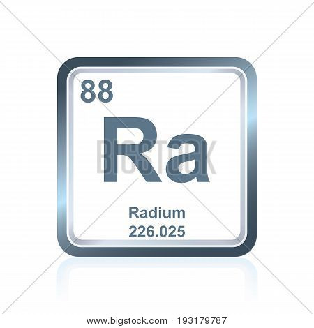 Chemical Element Radium From The Periodic Table