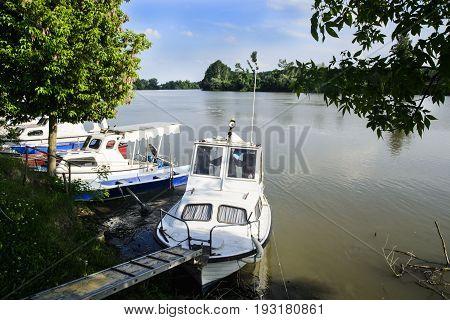 Boat In The River