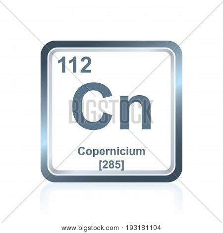 Chemical Element Copernicium From The Periodic Table