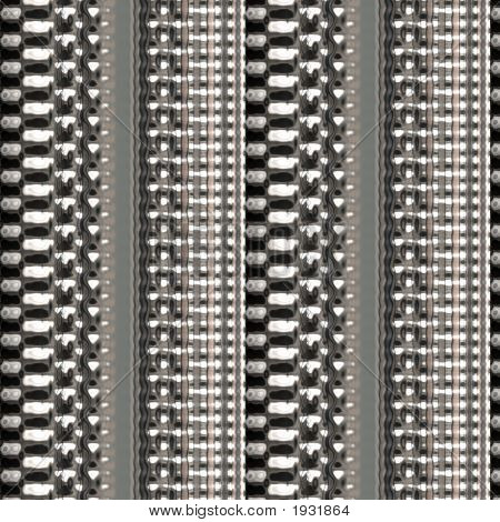 poster of Illustration of silver plated chain link pattern