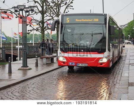 Bus In Hamburg