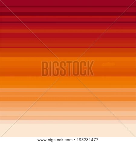 concept sunset sky. orange stripes color background for print and web design. vector template illustration