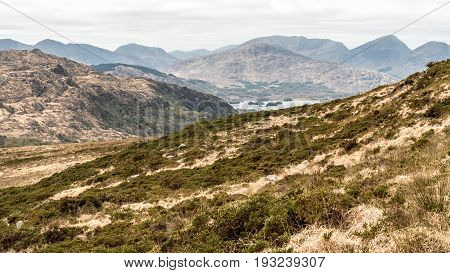 View Of Upper Lake From Torc Mountain