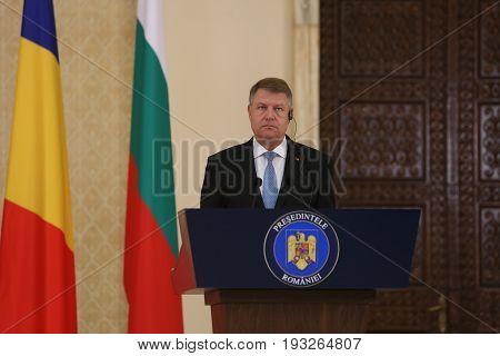 Klaus Iohannis - Rumen Radev