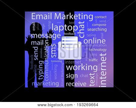 Email Marketing. Concept. Vector