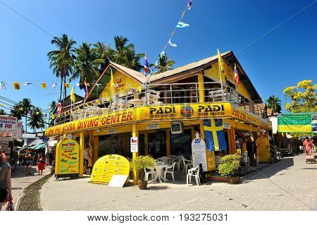 Scuba Diving Center In Pp Island