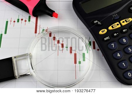An image of a business concept - financial