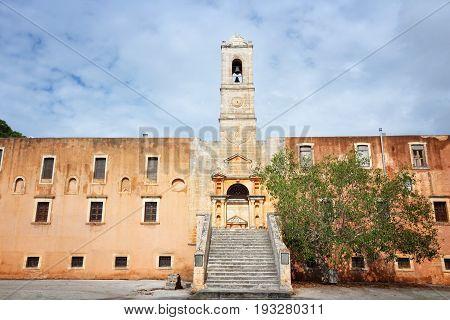 Monastery In Greece