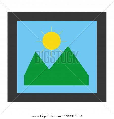 picture file isolated icon vector illustration design
