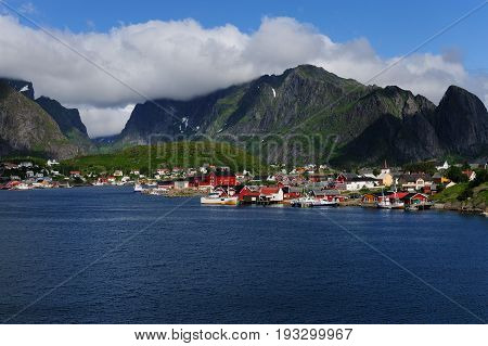 The Village of Reine, part of the Moskenes community.