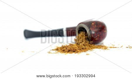 Pipe And Tobacco , Close Up