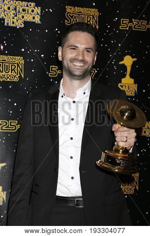 LOS ANGELES - JUN 28:  Dan Trachtenberg at the 43rd Annual Saturn Awards - Press Room at the The Castawa on June 28, 2017 in Burbank, CA