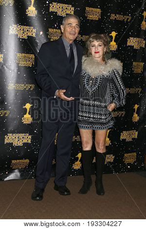 LOS ANGELES - JUN 28:  Robert Forster, Kimmy Robertson at the 43rd Annual Saturn Awards - Press Room at the The Castawa on June 28, 2017 in Burbank, CA