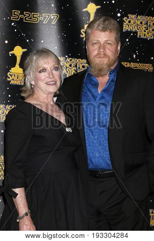 LOS ANGELES - JUN 28:  Veronica Cartwright, Michael Cudlitz at the 43rd Annual Saturn Awards - Press Room at the The Castawa on June 28, 2017 in Burbank, CA