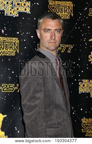 LOS ANGELES - JUN 28:  Sean Gunn at the 43rd Annual Saturn Awards - Press Room at the The Castawa on June 28, 2017 in Burbank, CA
