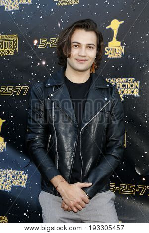 LOS ANGELES - JUN 28:  Taylor Gray at the 43rd Annual Saturn Awards - Arrivals at the The Castawa on June 28, 2017 in Burbank, CA