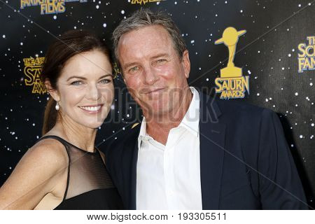 LOS ANGELES - JUN 28:  Susan Walters, Linden Ashby at the 43rd Annual Saturn Awards - Arrivals at the The Castawa on June 28, 2017 in Burbank, CA