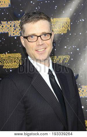 BURBANK - JUN 28: Angus MacLane at the 43rd Annual Saturn Awards at The Castaway on June 28, 2017 in Burbank, California
