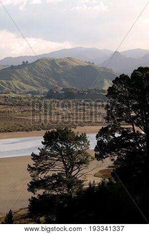 Otahu River near Whangamata Coromandel Peninsula New Zealand